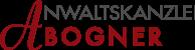 Anwaltskanzlei Bogner Logo